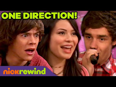 """iCarly Meets One Direction! 🤩 ft. 1D Performing """"What Makes You Beautiful"""""""