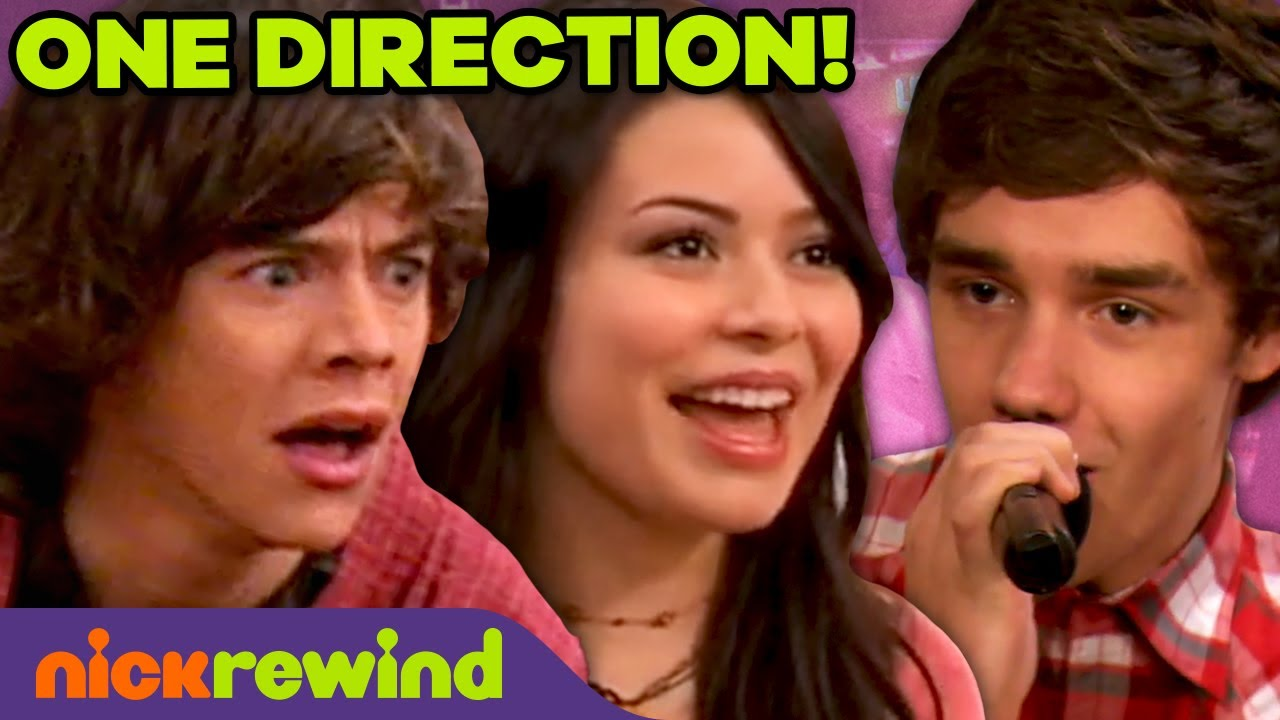 """Download iCarly Meets One Direction! 🤩 ft. 1D Performing """"What Makes You Beautiful"""""""