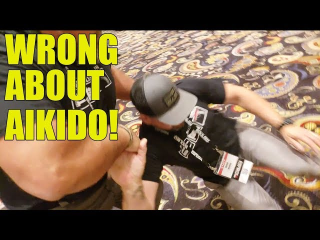 They Say I'm Wrong About Aikido: US Army Colonel, USMC, Navy QRF