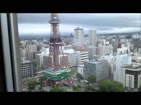 札幌市役所 展望回廊からの眺め (2011.7.4) Sapporo City Office