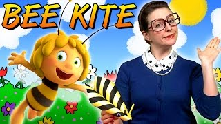 Maya The Bee - Bee Kite Craft | Crafts For Kids With Crafty Carol At Cool School