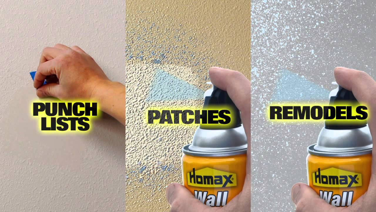 Homax Color Changing Wall Texture