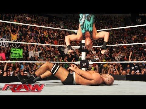 Rob Van Dam vs. Cesaro -- Money in the Bank Qualifying Match: Raw, June 9, 2014