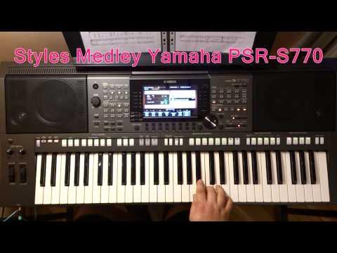 Yamaha psr s770 arranger keyboard workstation demo by s for Yamaha psr s770 review