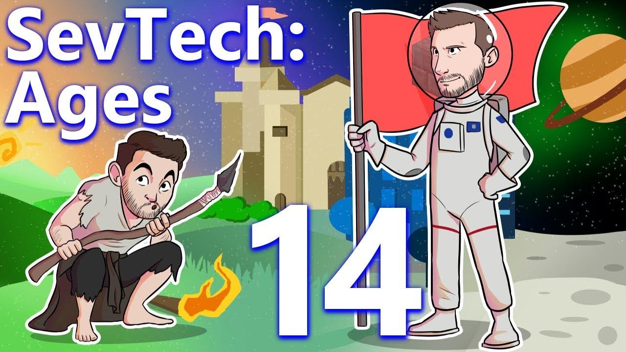 SevTech: Ages w/ CaptainSparklez: EP 14 - SHOGGOTH AND