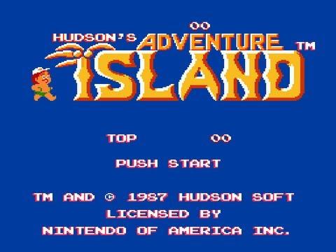 Hudsons Adventure Island dendy, Приключения на острове NES [019]