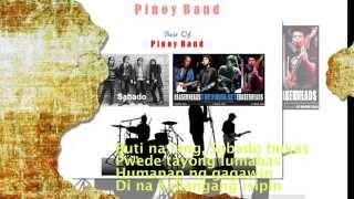 Sabado - Eraserheads (Lyrics)