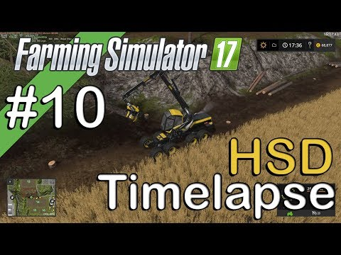 Farming Sim 17 - HSD - Timelapse #9 -  The Mill Experiment