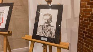 Konkurs plastyczny - postać marszałka Józefa Piłsudskiego