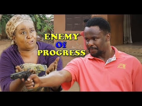 THE ENEMY OF PROGRESS (New Movie) - Zubby Micheal|2019 Latest Nigeria Nollywood Movie
