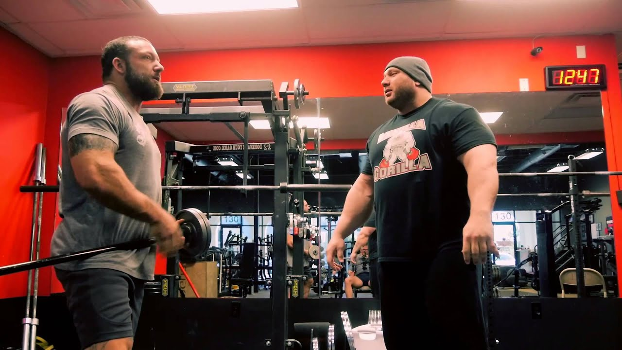 Coaching the Shoulderok: Powerlifter Eric Spoto - YouTube