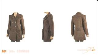 Stock Ladies Wool Jackets in Stock #180509