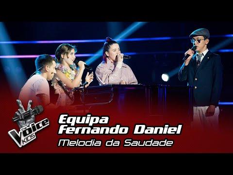 "Equipa Fernando Daniel - ""Melodia da Saudade"" | Semifinal | The Voice Kids"