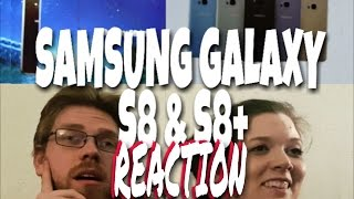 Introducing Samsung Galaxy S8 - REACTION! Unbox your phone