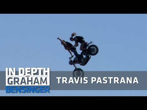 Travis Pastrana: Closest I've come to a heart attack