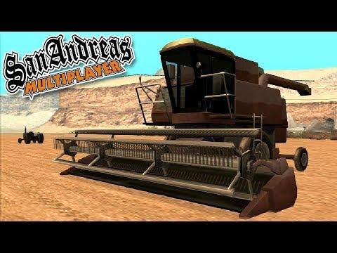 Trabalhando Como Fazendeiro No SAMP! [EP 04] | GTA San Andreas Multiplayer RPG