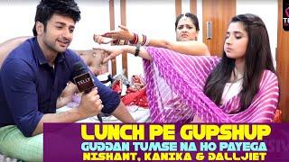 Lunch Pe Gupshup: Nishant Malkani Celebrates His B'day With Kanika Mann & Dalljiet Kaur | Guddan