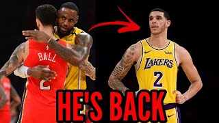 LONZO BALL TRADED BACK TO THE LAKERS!!!   Trade Recap