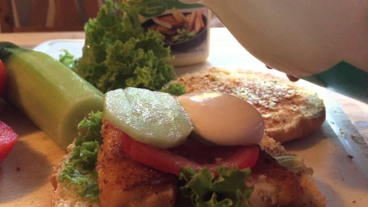 Kinder Küche: Wir Bauen Einen Fischburger