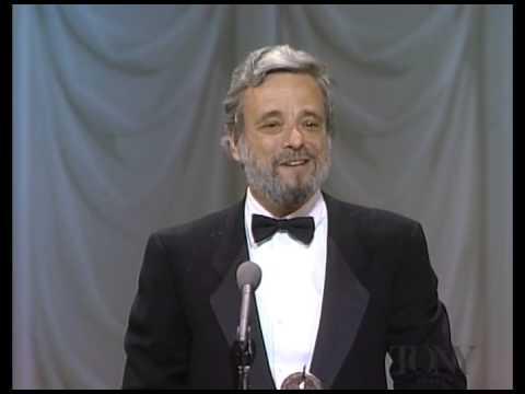 1988 Tony Awards - STEPHEN SONDHEIM - Best Original Score Written for the Theatre