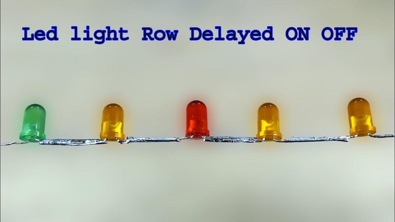 Delayed On Led