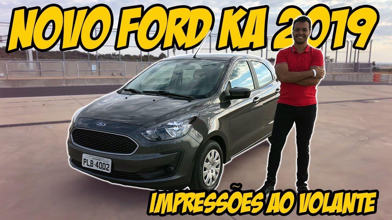 Avaliacao Novo Ford Ka 2019 Tudo Sobre A Versao Se 1 0 Manual