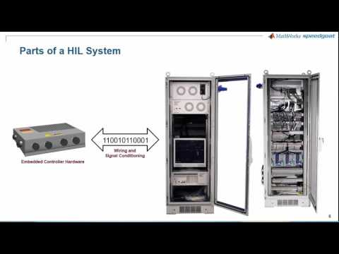 HIL Simulation and Testing with Simulink Real Time and Speedgoat Target Hardware