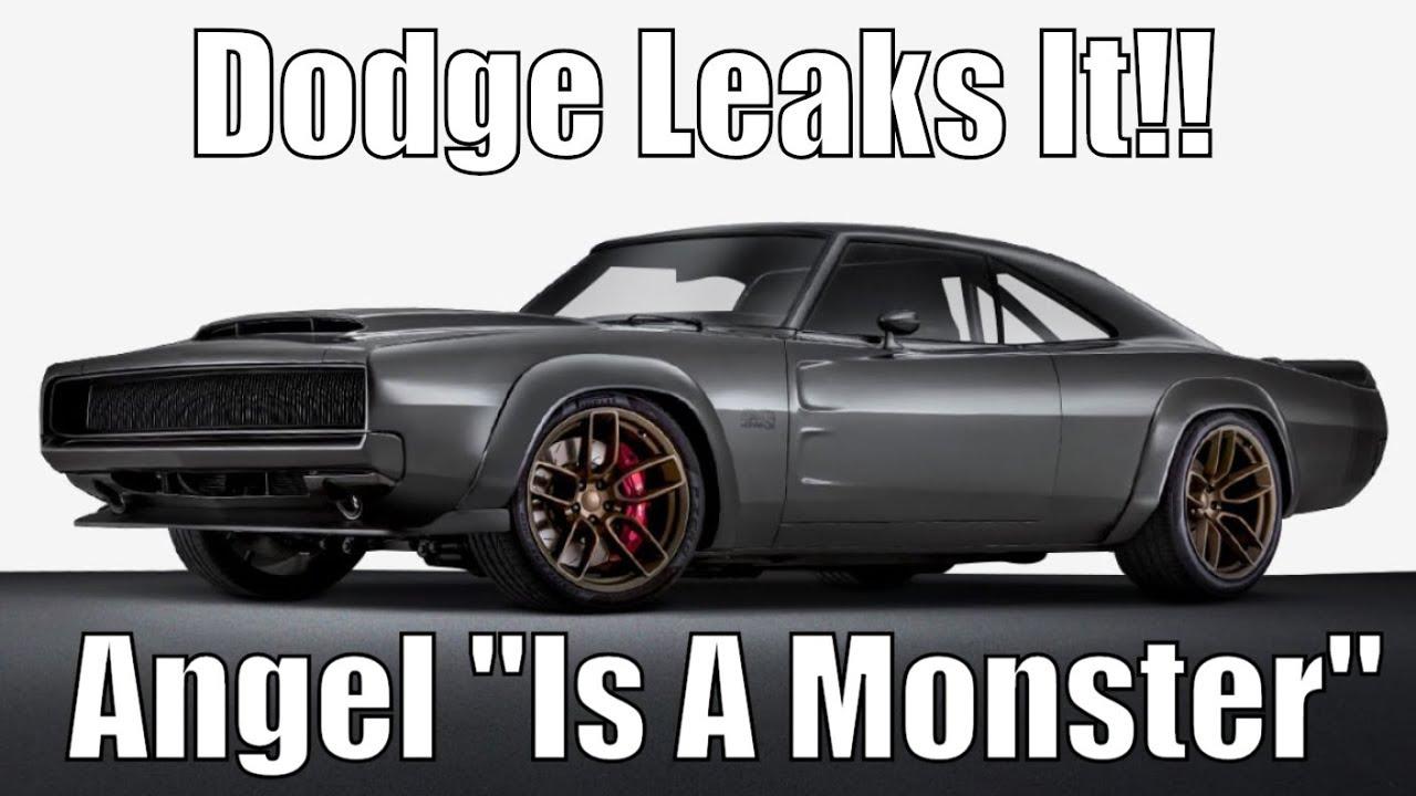 Dodge Leaks It Angel Is A Monster It Will Run Low 9 S Youtube