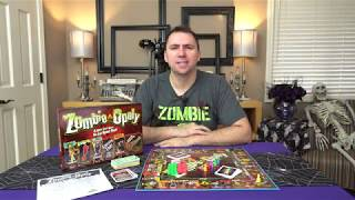 Zombie-Opoly Board Game Unboxing & Review  (Late For The Sky Product)