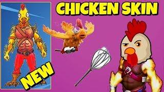 LEAKED NEW KFC SKIN IN FORTNITE