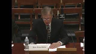 "Rep. Babin Testimony on ""Members Day Hearing: House Committee on Science, Space, and Technology"""