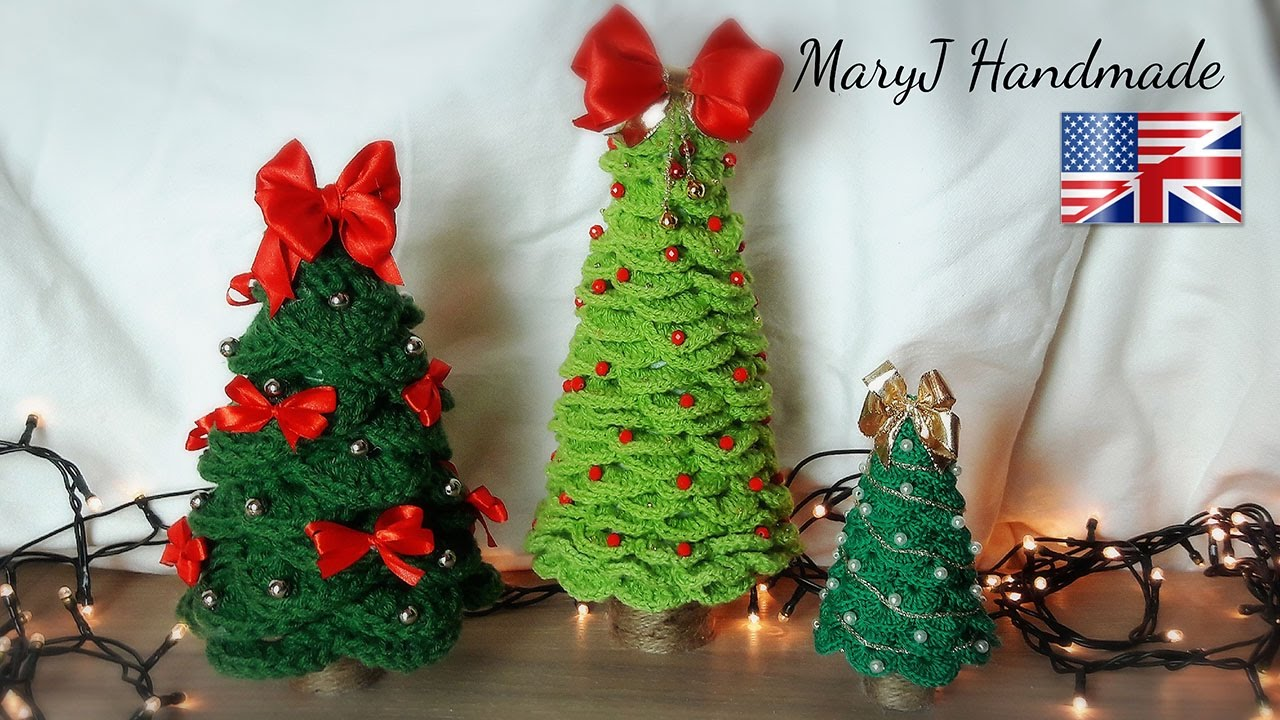Crochet Christmas Tree Maryj Handmade Youtube