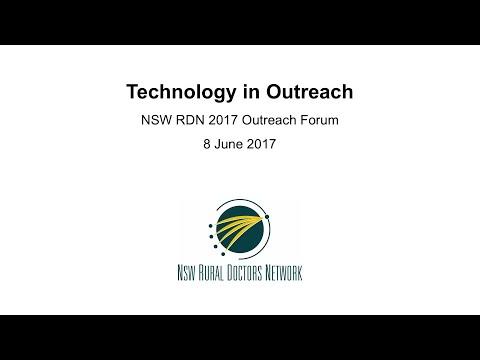 RDN02 Technology in Outreach – 2017 Outreach Forum