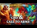 Cho and Call to Arms ~ Kobolds & Catacombs ~ Hearthstone