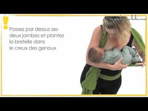 promotion bébé attrayant et durable Portage en charpe et allaitement T te Decouverte JPMBB