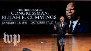 Rep. Elijah Cummings memorialized as loving father, man of 'integrity' at funeral