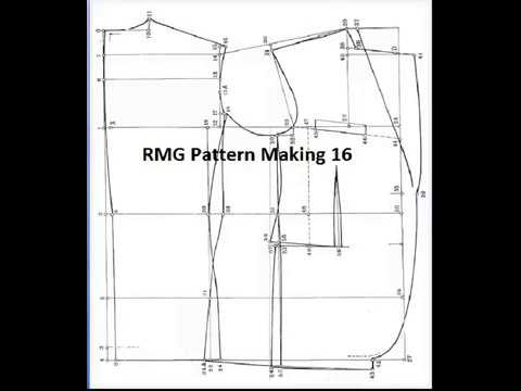 RMG Pattern Making 60 YouTube Mesmerizing Blazer Pattern