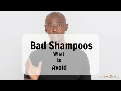 Bad Shampoos - Stay away from these ingredients