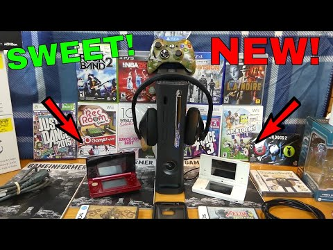 BRAND NEW VIDEO GAMES!!! Dumpster Dive Finds Gamestop (Week 62)