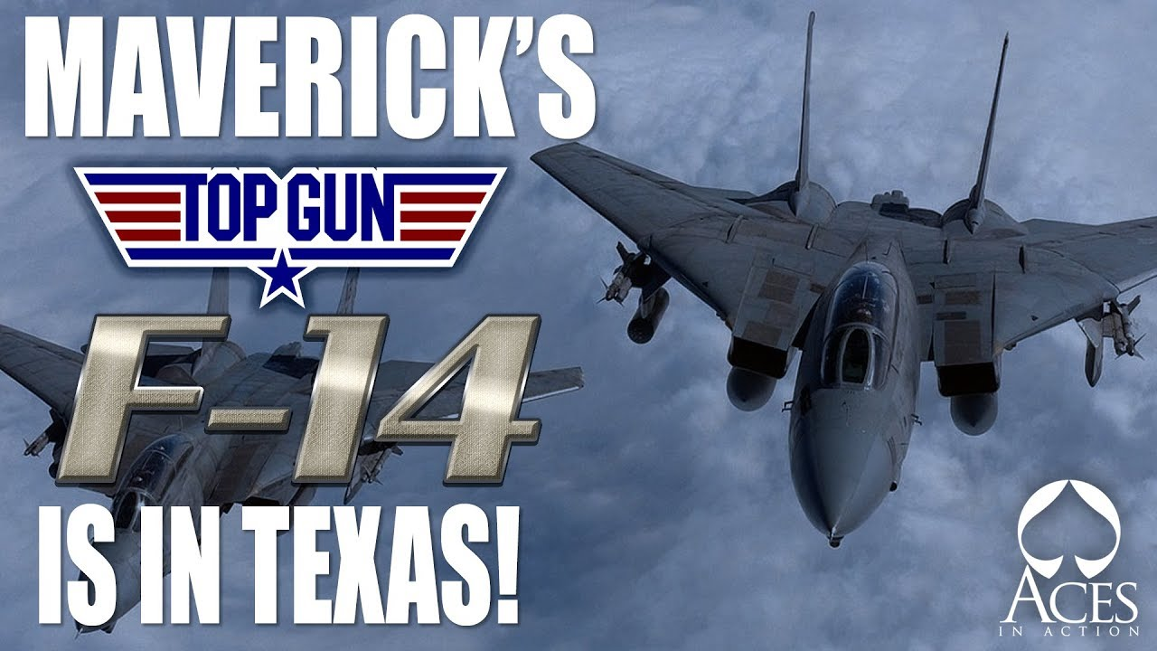 Maverick's Top Gun F-14 Tomcat is in Corpus Christi, TX