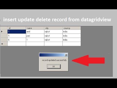 Updating database datagridview vb