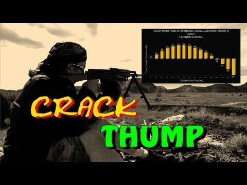 SNIPER 101 Part 82 - RANGING ENEMY FIRE - Crack Thump Method