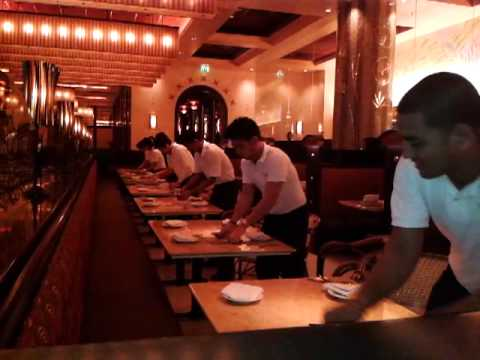 CHEESECAKE FACTORY - YouTube - restaurant busboy