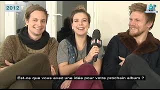 Extrait archives M6 Video Bank Interview du groupe Of Monster and Men 12H45 - 2012