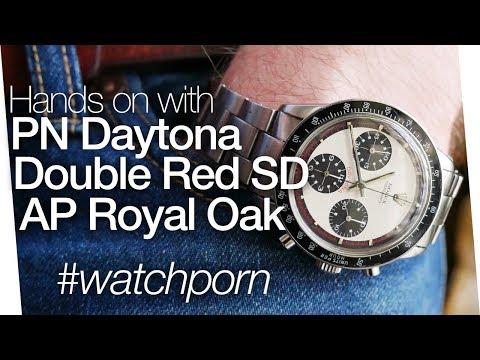 Rolex PN Daytona, Double Red Sea Dweller, AP Royal Oak - The Ultimate Grail Collection!