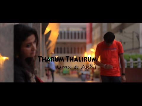 Tharum Thalirum (Cover) | Uma & Akhil