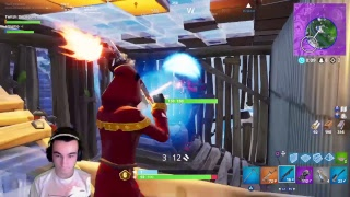 New cloaked shadow skin Gameplay in Fortnite live