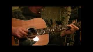 005 - Lonesome Road Blues Flatpick Guitar Instruction