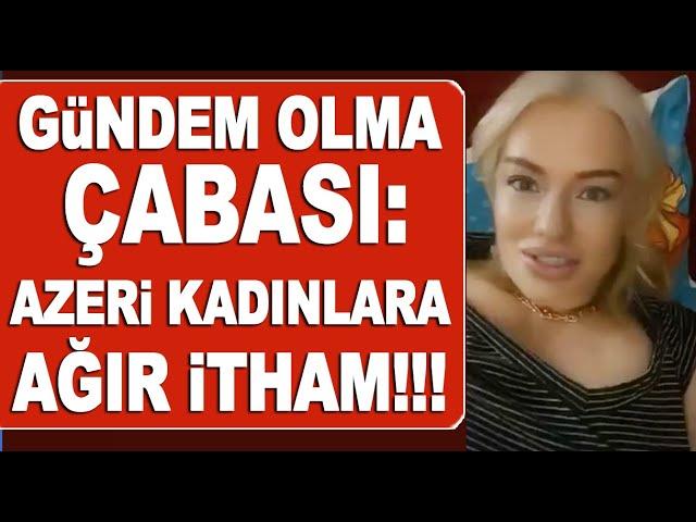 Hilal Cebeci'den Azeri kadınlara ağır ithamlar! / Magazin Turu
