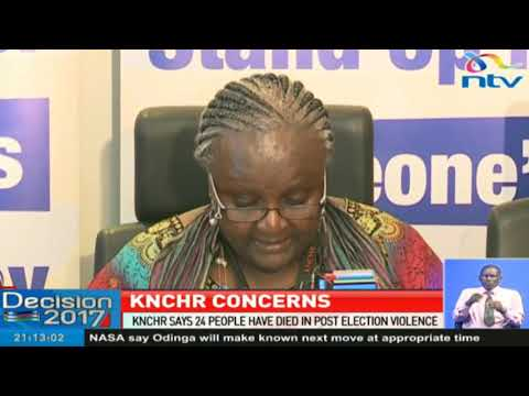 KNCHR wants police IG to rein in police officers